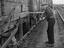Whitemoor Yard (Up) 1st class shunter F Mitchel uncoupling wagons