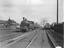 Lancashire and Yorkshire 2 - 4- 2 tanks engine on a passenger train
