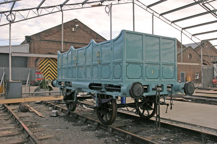 L&MR 2nd Class railway carriage (Replica).