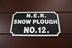 NER Snow Plough No. DE900566.